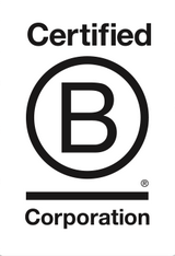B-Corporation logo on Adalinda