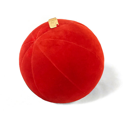 Kakiemon Red Velvet Pillow Ball