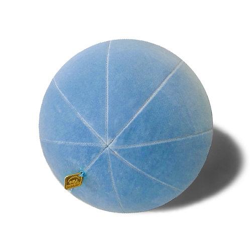 Velvet Blue Pillow Ball