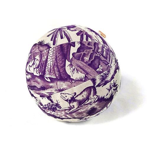 Print Violet Pillow Ball