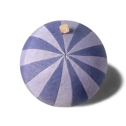 Pinwheel Purple Pillow Ball