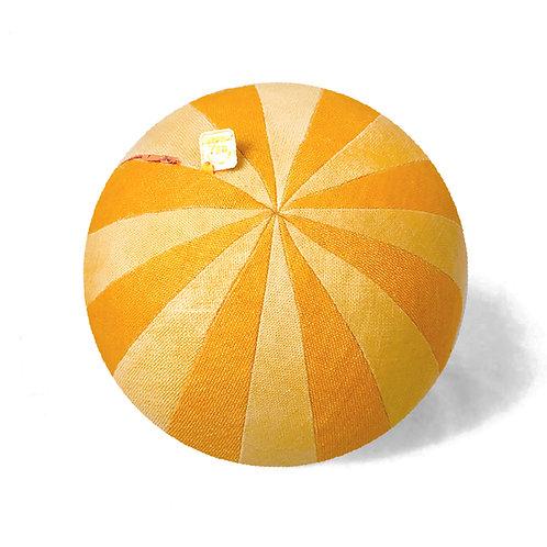 Pinwheel Orange Pillow Ball