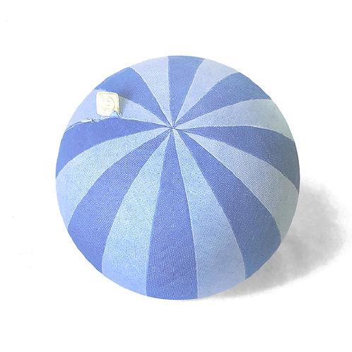 Pinwheel Blue Pillow Ball
