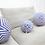 Thumbnail: Stars & Stripes Pillow  Ball / Blue