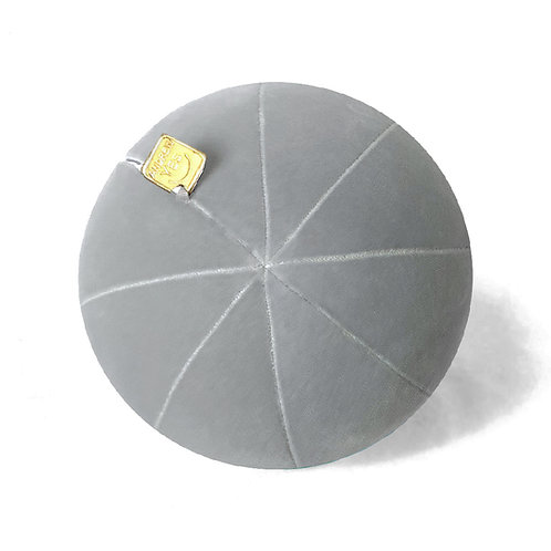Grey Velvet Pillow Ball