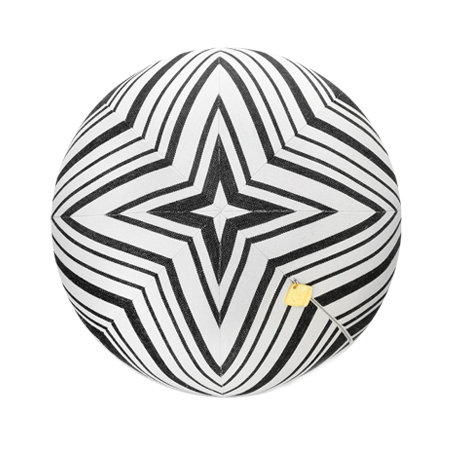 Black & White Star Pillow Ball