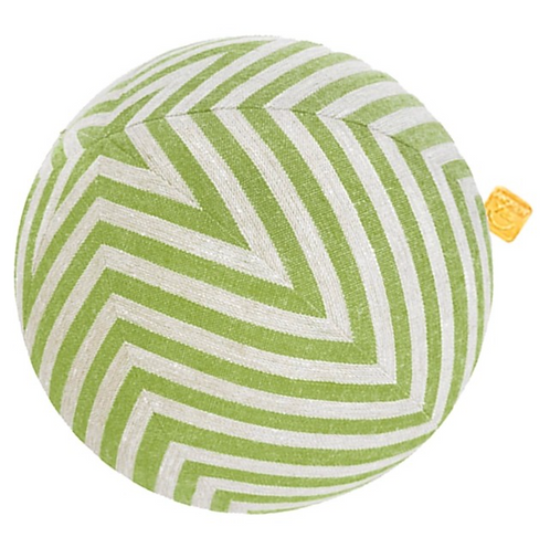 Stars and Stripes Pillow Ball / Green