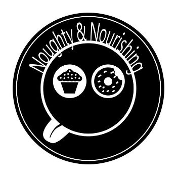 This is the logo of Noughty and Nourishing again.
