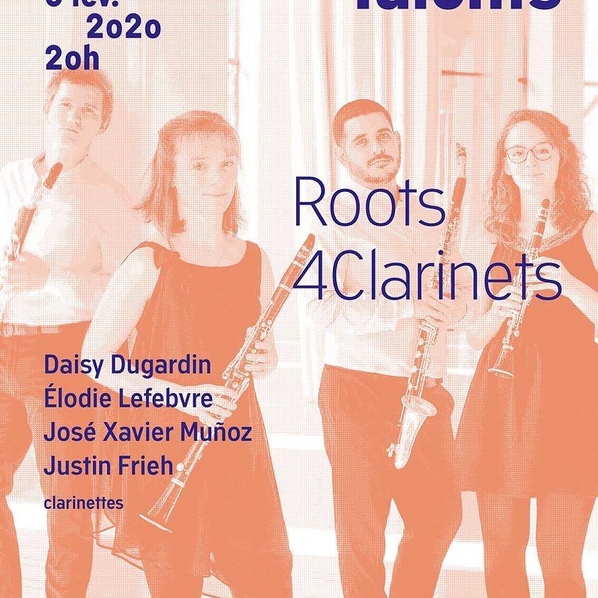 Nouveaux Talents: Roots4Clarinets