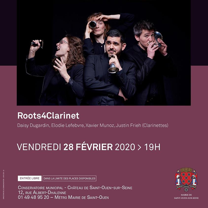 Roots4Clarinets au Salon de Musique de Saint-Ouen-sur-Seine