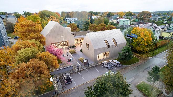 Karmeli koguduse uus hoone