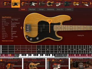 MODO BASS is the first physical modeling virtual electric bass instrument that gives players and pro