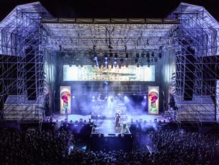 Italian Rap Artist Caparezza  Tours with dBTechnologies VIO L212