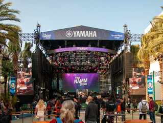We decided to be part of the 100,000 to descend upon NAMM in Anaheim.