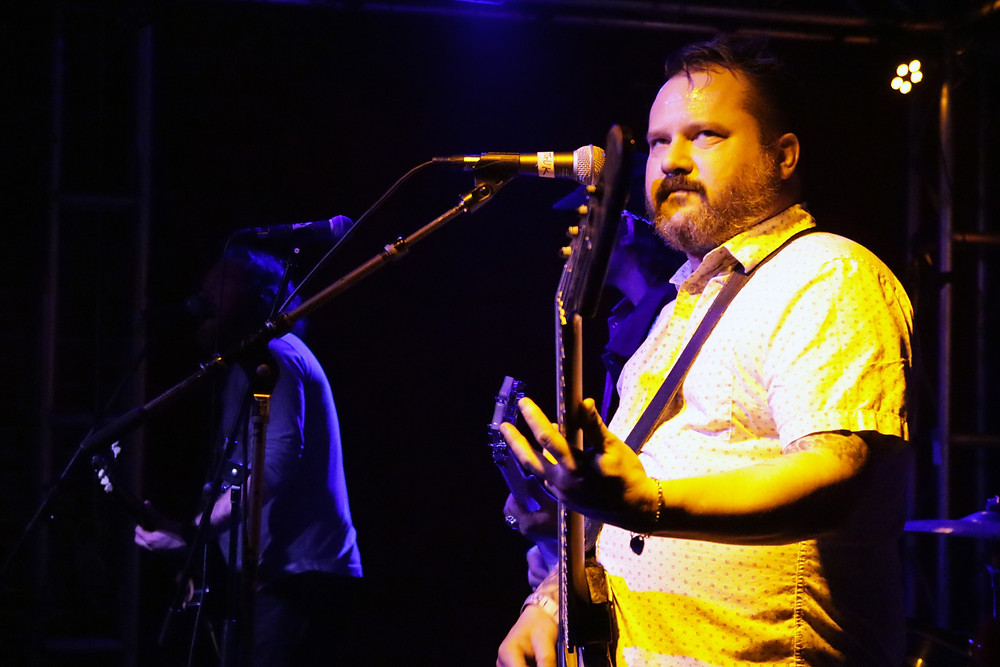 Matt Pryor of Radar State performs at Slidebar in Fullerton California