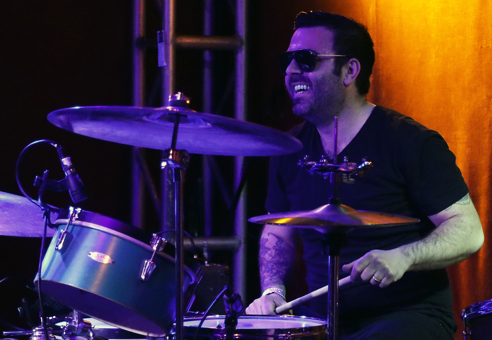 Adam Phillip enjoys the banter between the band mates
