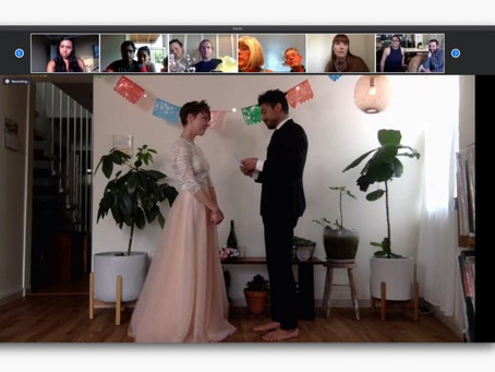 Can I sponsor my partner after marrying on Zoom?