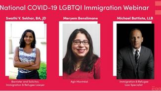 Egale National COVID-19 LGBTQI Immigration Webinar
