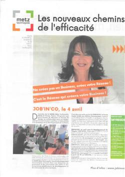 ARTICLE LA SEMAINE