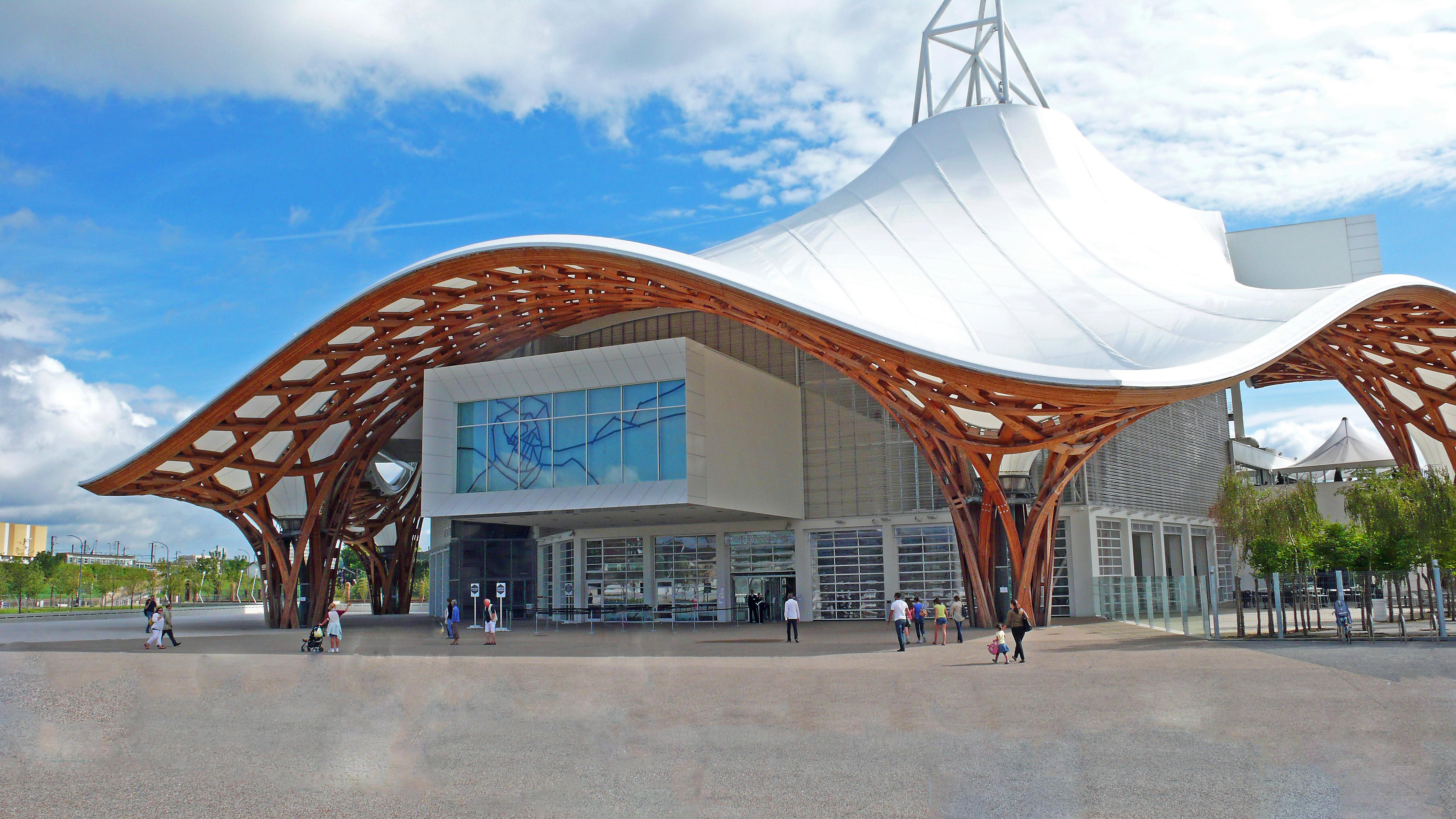 Le Centre Pompidou à Metz