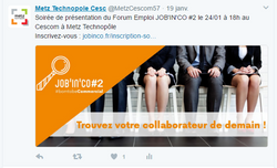 Annonce JOB'IN'CO #2