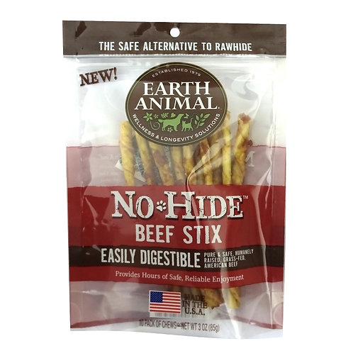 Earth Animal No Hide Beef Stix  3oz