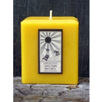 Beeswax Cube Candle