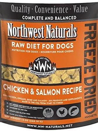 Northwest Naturals Frozen Raw Diet Salmon & Chicken 6 lbs