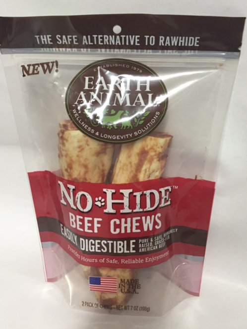 Earth Animal No-Hide Beef Chews 2 sizes