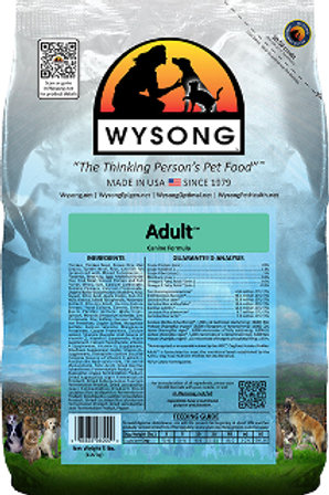 Wysong Adult Case (4) 5lb Bags