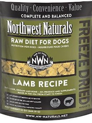 Northwest Naturals Frozen Raw Diet- Lamb 6 lbs.