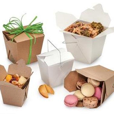 Mini Kraft Chinese Take Out Box (set of 10)