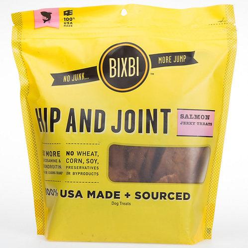 Bixbi Hip & Joint Jerky Treats- salmon or chicken