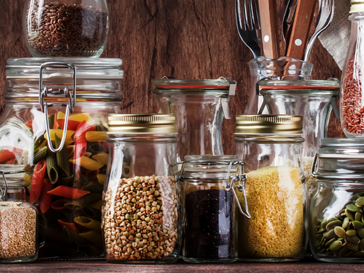 7 pantry staples for athletes...