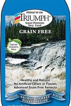 Triumph Grain-Free Salmon/Sweet Potato 3 sizes