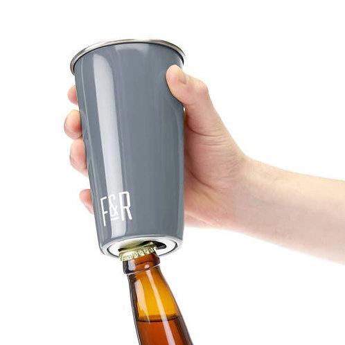 Bottle Opener Pint Cup Set
