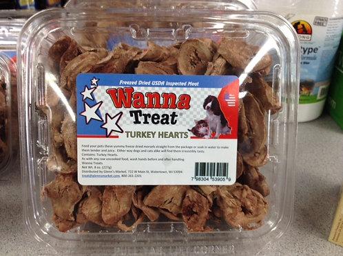 Wanna Treat: Freeze Dried Raw Treats: 4 varieties