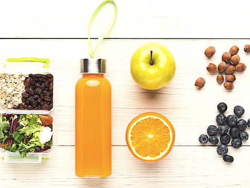 8 Healthy snacks for school