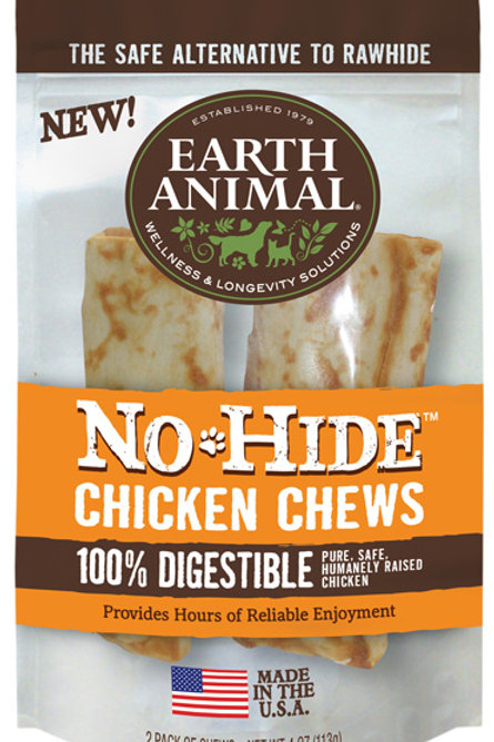 Earth Animal No Hide Chicken Chews 2 sizes
