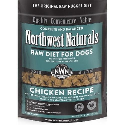 Northwest Naturals Frozen Raw Diet- Chicken 6 lbs.