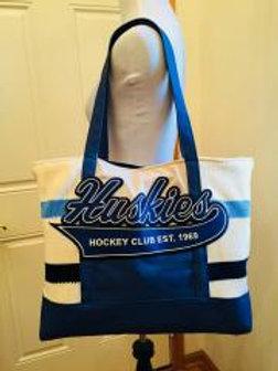 Upcycled Hockey Sock Reversible Tote