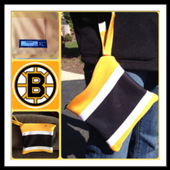 Limited Edition Boston Bruins Wristlet