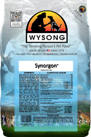 Wysong Synorgon Canine Case (4) 5Lb Bags