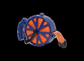 Recolhedor com fita de isolamento de are