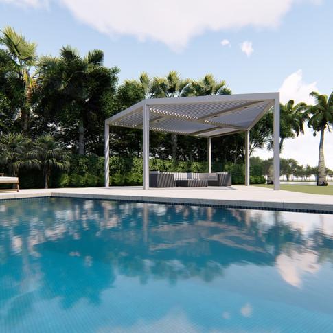 Palm Beach Pergola