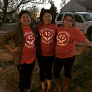 Zeta Chapter Sisters Vounteering