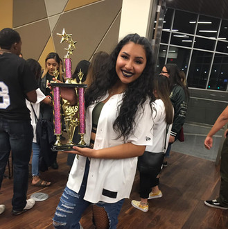 Hermana Karla at Pink Inferno 1st Place.