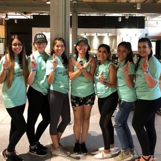 Delta Chapter Volunteers