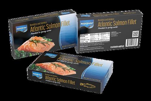 Poached Atlantic Salmon Fillet 5.3 oz. ea (case of 2 or 4)