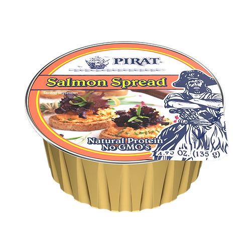 Pirat Salmon Spread 4.75 oz. ea (case of 8 or 16)